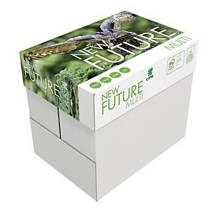 Caja de 10 paquetes de 500 hojas New Future - A5 - 80 g/m2