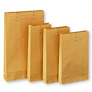 GUSSET BAG D 22 250X425MM BRW