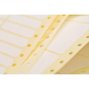 Etiquette matricielle Avery - T5112-500 - 125 x 74 mm - blanche - par 2000