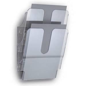Durable seinäteline A4 pysty, 1 kpl=2 seinätelinettä