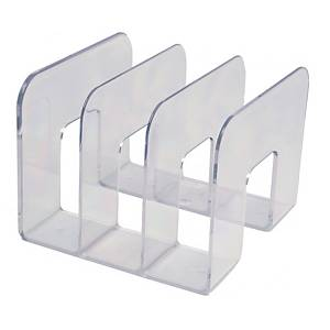 Katalogholder Durable TREND, 3 rom, transparent