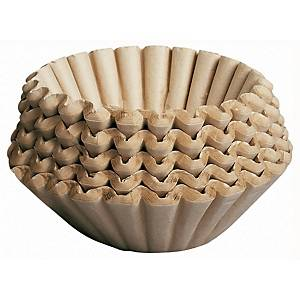 Kaffefilter Duni Brewmatic, 9 cm, ubleget, pakke a 250 stk.