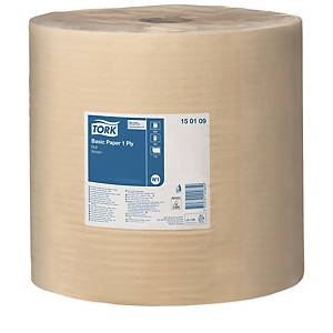 Industrirulle Tork W1 Basic, brun, rulle med 1 000 m