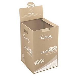 Boîte d'enlèvement pour cartouches de toner vides d'imprimantes laser