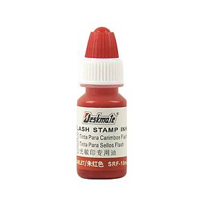 Deskmate DS Stamp Refill Ink Red 10ml