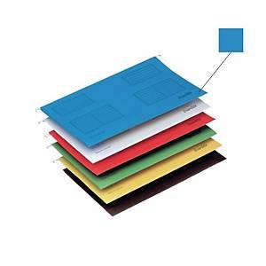 Bantex A4 Suspension File Blue - Pack of 25