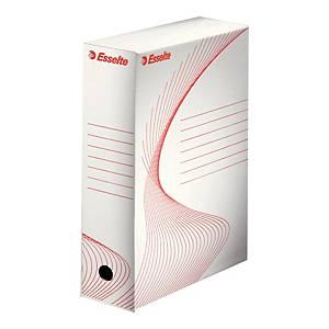 Pudełko archiwizacyjne ESSELTE Boxy A4 100 mm białe