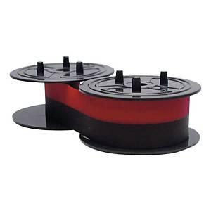 Farbrolle Canon 4202A002, schwarz/rot, 12 Stück