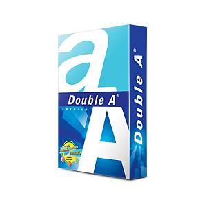DOUBLE A กระดาษถ่ายเอกสาร A4 80 แกรม สีขาว 500 แผ่น/รีม - 5 รีม/กล่อง