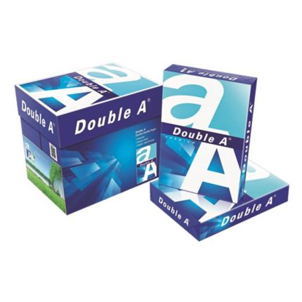 Double A A4 Copy Paper 80gsm - Box of 5 Reams