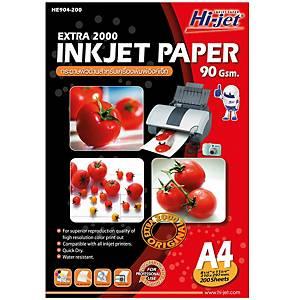 HI-JET EXTRA 2000 INKJET PAPER A4 90G - PACK OF 200