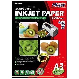 HI-JET กระดาษอิงค์เจ็ทEXTRA 2000 A3120 แกรม1 แพ็ค 100 แผ่น