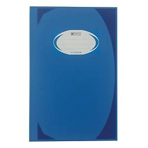 ตราช้าง สมุดบันทึกมุมมัน HC-102 70 แกรม 100 แผ่น สีน้ำเงิน
