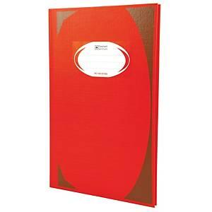 ตราช้าง สมุดบันทึกมุมมัน HC-103 70 แกรม 100 แผ่น สีแดง