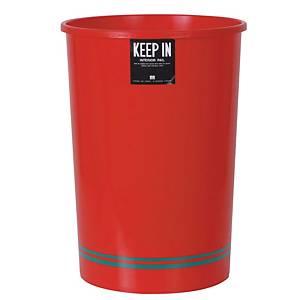 KEEPIN ถังขยะ ขนาด 29.7x55.5 ซม. ความจุ 20 ลิตรสีแดง