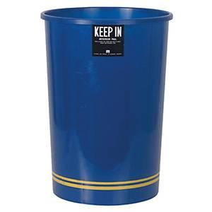 KEEPIN ถังขยะ ขนาด 29.7x55.5 ซม. ความจุ 20 ลิตร สีน้ำเงิน