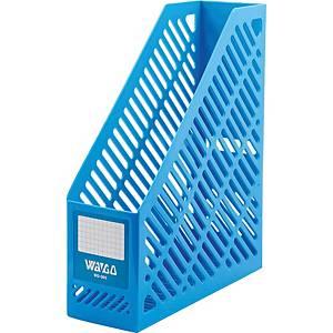 WAGO กล่องเก็บเอกสาร WG301 A4 สีฟ้า