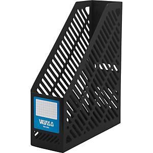 WAGO กล่องเก็บเอกสาร WG301 A4 สีดำ