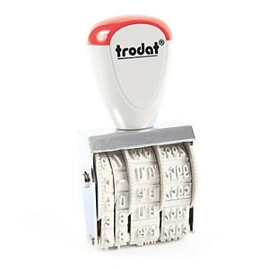 TRODAT TR1010/T Rubber Date Stamp 4mm- Thai Language