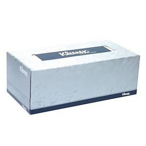 KLEENEX กระดาษเช็ดหน้า 2 ชั้น 19.8X21.6 เซนติเมตร กล่อง170 แผ่น