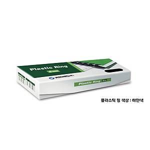 PK100 REXEL PLASTIC COMBS 8MM WH