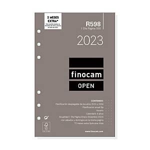 Recambio anual Finocam Open 500 - día página