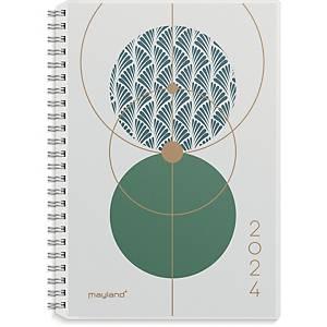 Kalender Mayland 2004 00, uge, 2020, A5, PP, 4 illustrationer