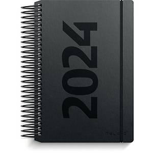 Kalender Mayland 2300 00, dag, 2021, 8 x 12,6 cm, fiberpap, sort