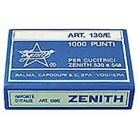 Agrafe Zénith 130E - 4 mm - Jusqu à 15 feuilles - boîte de 1000