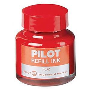PILOT WBMK-R REFILL WHITEBOARD MARKER INK 30ML BOTTLE - RED