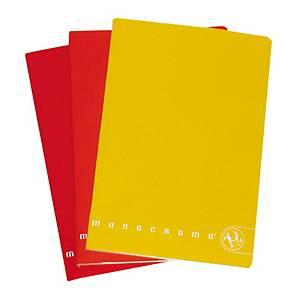 Quaderno Pigna Monocromo Mini 12 x 17 cm quadretti 5 mm colori assortiti