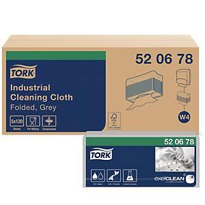 PK140 TORK 520378 MULTIPURP CLOTH GREY