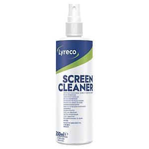 Skärmrengöring Lyreco, spray, 250 ml