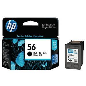 HP ตลับหมึกอิงค์เจ็ท HP56 C6656AA สีดำ