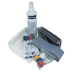 LYRECO WHITEBOARD CLEANING AND ACCESSORY KIT