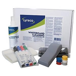 Kit de accesorios Lyreco para pizarra blanca