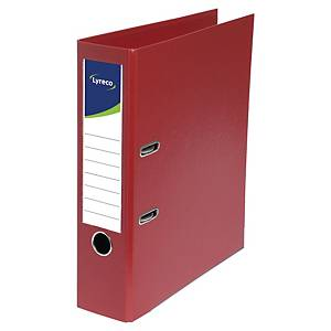 LYRECO LEVER ARCH FILE 80MM BURGUNDY
