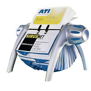 Durable Visifix Rotary a-Z Index File Dividers - 400 Card Capacity