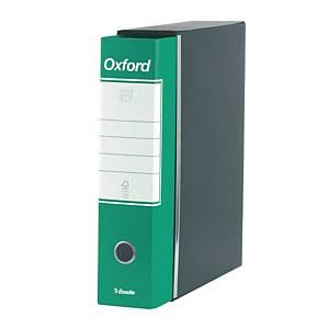 Registratore a leva Esselte Oxford cartone dorso 8 cm protocollo verde