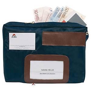 Alba pocais gusset cash pouch 270 x 190 x 40mm nylon