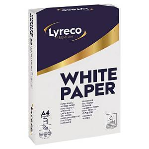 Lyreco Premium white paper A4 90g - pack of 500 sheets