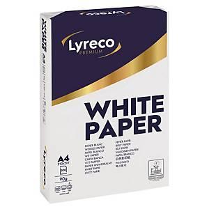 Papier A4 blanc Lyreco Premium, 90 g, les 500 feuilles