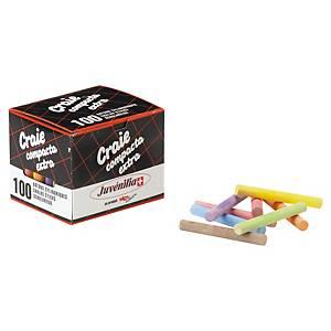 Craie de couleur - boîte de 100
