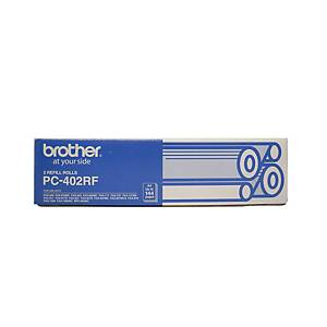 Brother PC402RF Original Fax Thermal Ribbon Black
