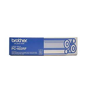 Brother PC402RF Original Fax Thermal Ribbon Black