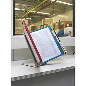 Durable Vario Desk 20 Display Panel System Assorted