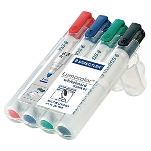 Marcatore lavagna cancellabile Staedtler Lumocolor Whiteboard 351 - conf. 4