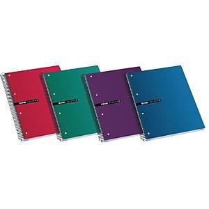 Caderno espiral Enri Status - A4+ - 160 folhas - quadriculado