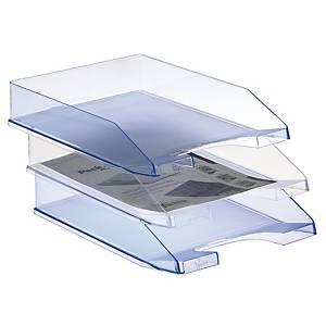 Bandeja de sobremesa Archivo 2000 740-OP - poliestireno - transparente