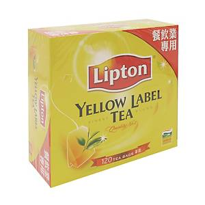 Lipton 立頓 黃牌茶包 - 120包裝